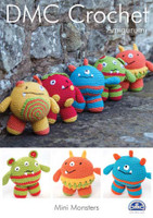 Mini Monsters Crochet Pattern Booklet