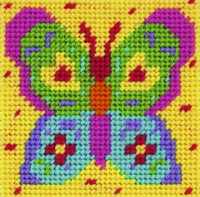 Colourfly Butterfly Starter Tapestry Kit By Anchor