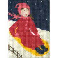 Daisy Does Sledging Tapestry Starter Kit