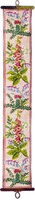Wildflowers Bell pull Tapestry kit