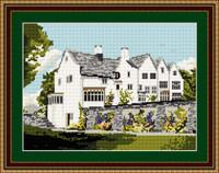 Blackwell House Windermere Tapestry Kit