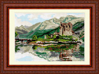 Eileen Donan Castle Tapestry Kit