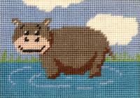 Henrietta Hippo Tapestry Starter Kit