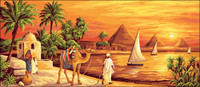 Le Long du Nil Tapestry Canvas