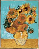 Les Tournesols d apres Van Gogh Tapestry Canvas