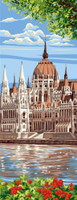 Parlement Hongrois Tapestry Canvas