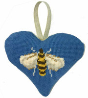 Bee Heart Tapestry Cushion Kit By Cleopatra