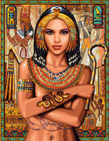 Princesse Egyptienne Tapestry Canvas