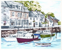 Padstow Harbour Tapestry Kit