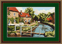 Lower Slaughter Tapestry Kit