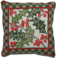 Holly Sampler Tapestry Kit