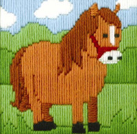 Ned the Horse Beginner Long Stitch Kit