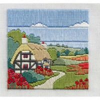 Poppy Cove Long Stitch Kit