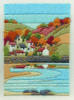 Coastal Autumn Long Stitch Kit