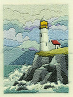 Coastal Winter Long Stitch Kit