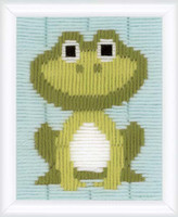 Frog Longstitch Kit by Vervaco
