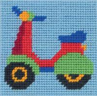 CALLIE CUPCAKE Long stitch Kit