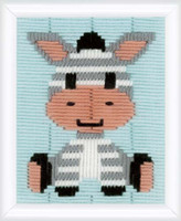 Zebra Longstitch Kit By Vervaco