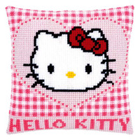 Kitty in a Heart Tapestry Kit by Vervaco