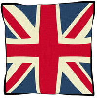 Union Jack Tapestry Cushion Kit