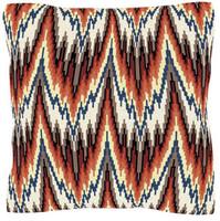 Red Bargello Cross Stitch Cushion Kit