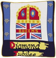 Offical Diamond Jubilee Cross Stitch Kit