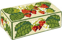 Strawberries Tapestry Doorstop Kit