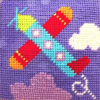 Plane Needle Point By Stitching Shed