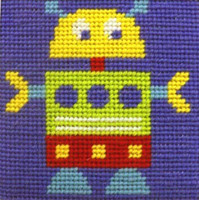 Robot   Needle Point By Stitching Shed