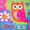 Hoot Needle Point By Stitching Shed