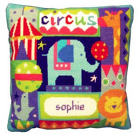 Circus Needle Point By Stitching Shed