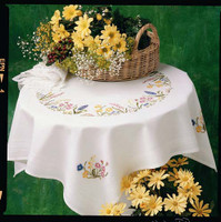 Spring Garland Tablecloth Kit