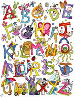 Alphabet Fun Cross Stitch Kit