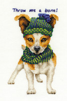 Jack Russell  Cross Stitch Kit By Dmc