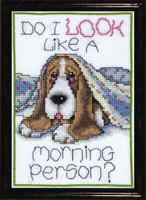 Morning Dog Cross Stitch Kit By Designs Works