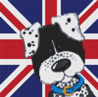 Harry & Friends Spotty Dog Cross Stitch Kit By Stitchtastic