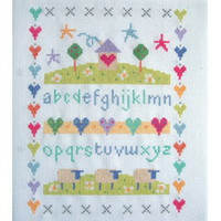 Sheep Sampler Cross Stitch Kit