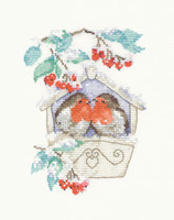 Hideaway Cross Stitch Kit By Heritage