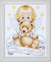 Angel Sampler Cross Stitch Kit By Design Works