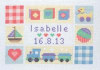 Baby Sampler  Cross Stitch Kit