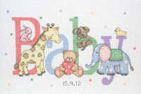 Baby Animals Sampler Cross Stitch Kit