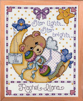 Moon Baby Sampler Cross Stitch Kit By Design Works