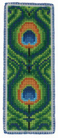 Peacock Bookmark Cross Stitch Kit By Anchor
