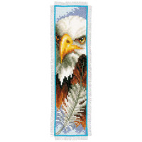 Eagle Bookmark Cross Stitch Kit
