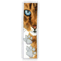 Cat Paws Bookmark Cross Stitch Kit