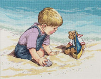 Sea Shore Fun Cross Stitch Kit By Janlynn