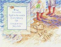 Beach Romance Cross Stitch Kit By Janlynn