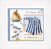 Beach Tent Sampler Vervaco Cross Stitch Kit