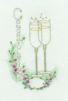 Congratulations Card Cross Stitch Kit