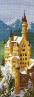 Neuschwanstein Castle Cross Stitch Kit
